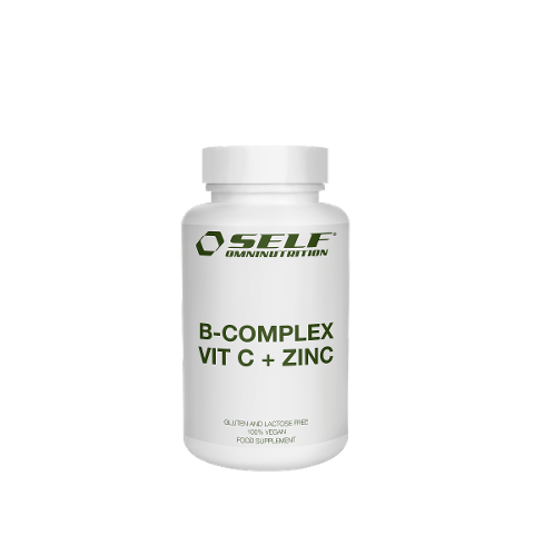 B-Complex Vitamin C + Zinc Self 60 cps