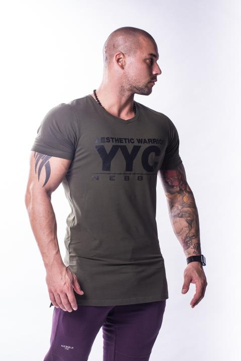 Athletic Logo T-Shirt 730 NEBBIA