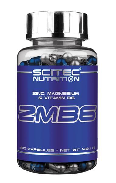 ZMB6  Zinco, magnesio & vitamina B6 Scitec 60 cps