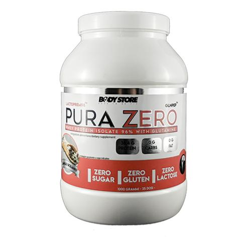 Proteine Isolate 96% - Pura Zero 1kg Body Store