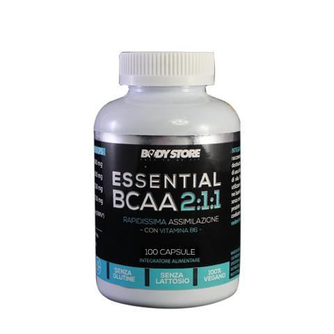 BCAA 2.1.1 con Vitamina B6 Body Store
