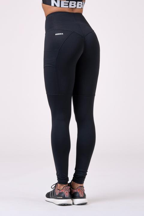 High waist Fit&Smart leggings 505 Black NEBBIA Taglia S