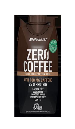 Bevanda di proteine di latte scremato UHT omogenizzato - Zero Coffe BioTech 330 ml