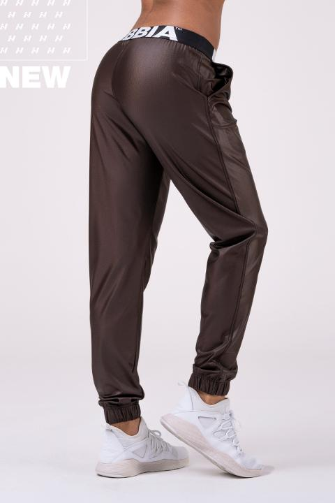 Tuta da allenamento Sports Drop Crotch pants Marrone 529 NEBBIA Taglia S
