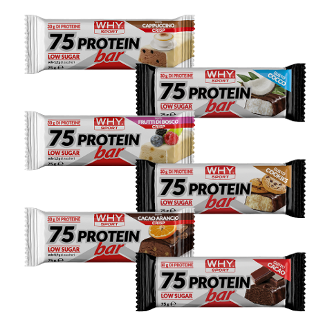 75 protein bar - Barrette proteiche WHY  75g