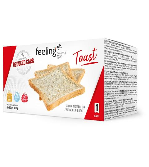 Toast Start Feeling Ok 4x40g