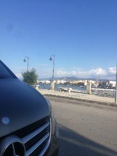 Auto con Autista da Palermo Aeroporto a Cefalù