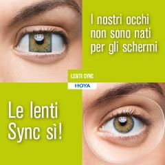 Lenti con supporto accomodativo Hoya  SYNC