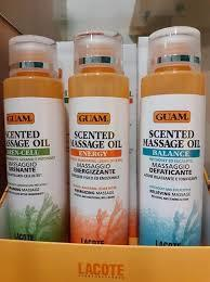 Scented Massage Oil GUAM olii