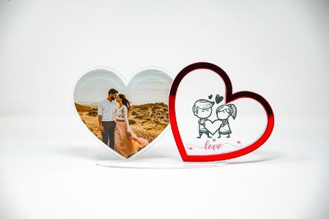 Portafoto Lovers Regplex Due Cuori