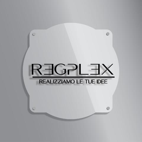 Targa Insegna Vintage in Plexiglas Regplex Incisione Personalizzata