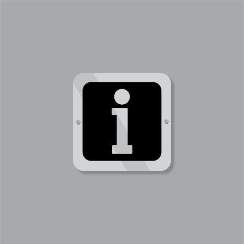 Cartello Punto Informazioni Regplex Segnaletica di Sicurezza