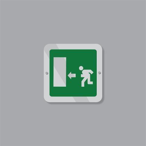 Cartello Uscita d'Emergenza Regplex Segnaletica di Sicurezza
