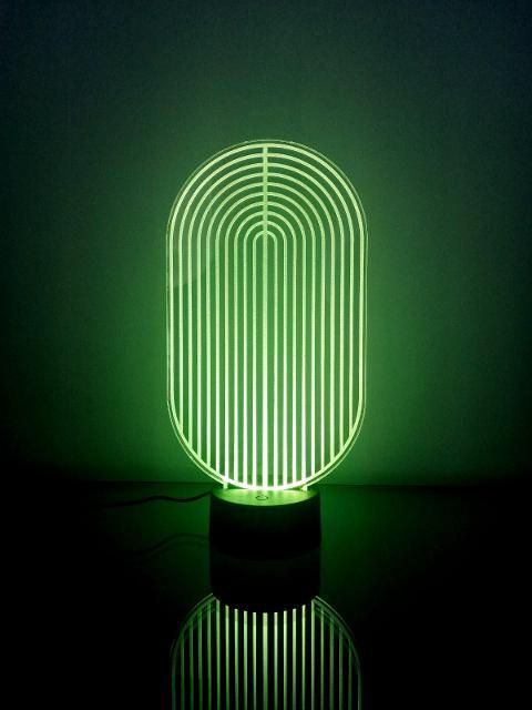 Lampada Moderna Regplex Base LED RGB