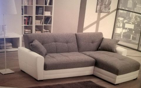 Divano con Chaise lounge, letto e contenitore  Eleni
