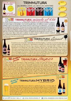 Birra TRIMMUTURA TRIMMUTURA MISCELA, SUPER, DIESEL, HYBRID, SENZA PIOMBO