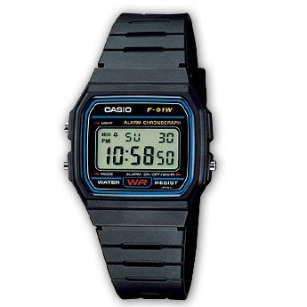 Collection Men CASIO F-91W-1YEF