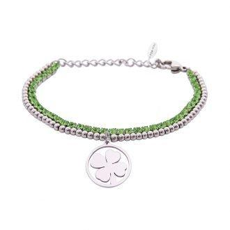 Bracciale Crystal Quadrifoglio 4YOU JEWELS B10959