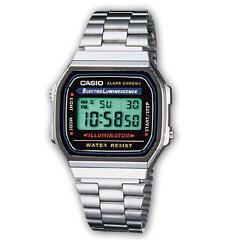 Vintage ICONIC CASIO A168WA-1YES
