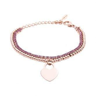 Bracciale Crystal Cuore 4YOU JEWELS B10955