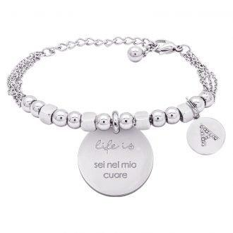 Bracciale Life Is Letters 4YOU JEWELS B10361