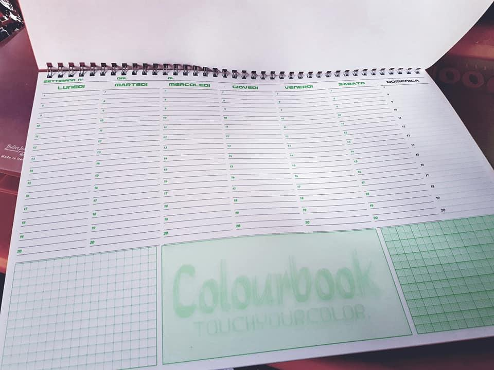 Planner da scrivania Colourbook