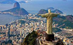 Rio de Janeiro, Iguacu, Salvador, Fortaleza
