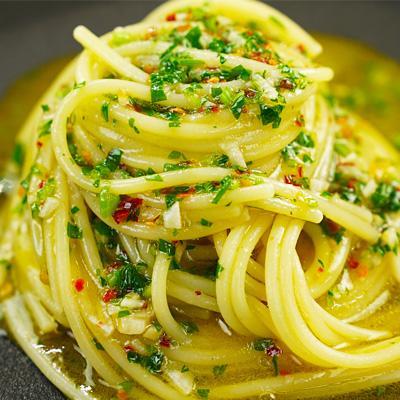 Spaghetti Aglio, Olio e Peperoncino.