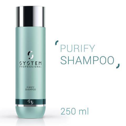 Shampoo Purify System Professional Wella - Cute con forfora