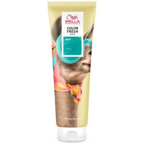Color Fresh Mask (crazy) Wella Mint / 150 ml - Palermo