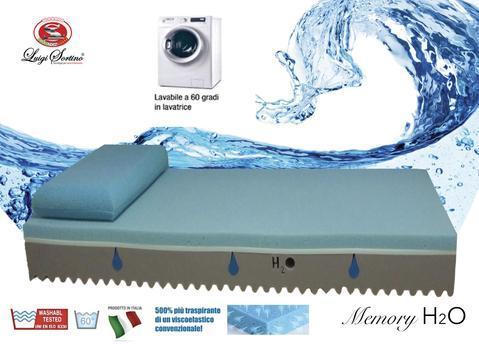 Materasso Memory H2O Luigi Sortino Lastra lavabile