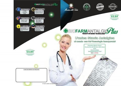 Stuoia Antalgica BIOFARMANTALGIC PLUS Antiossidante