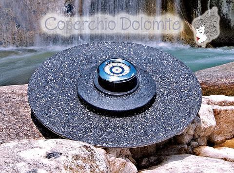 Coperchio in pietra lavica MariLu Dolomite