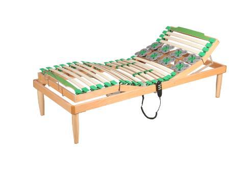 Rete letto singolo con doghe in legno Everest Voghera