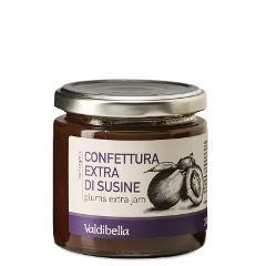 Confettura/  extra di susine/  Valdibella