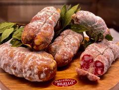 Salame casereccio/ 100 gr./ Macelleria Bilello