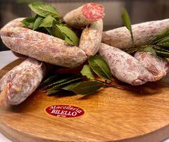 Salamino cacciatorino/ 100 gr./ Macelleria Bilello