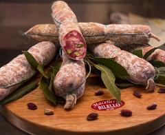 Salame al pistacchio/ 100 gr./ Macelleria Bilello