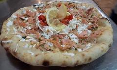 Pizza /  Salmonata / Pizzeria Gran Vulcano