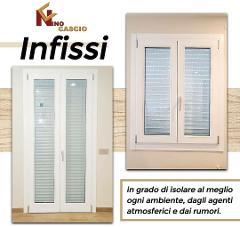 Infissi in Legno Laccato/ Cascio Nino