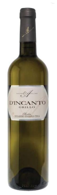 Vino Bianco / D'Incanto /  Grillo / IGT Sicilia /  Fattorie Azzolino