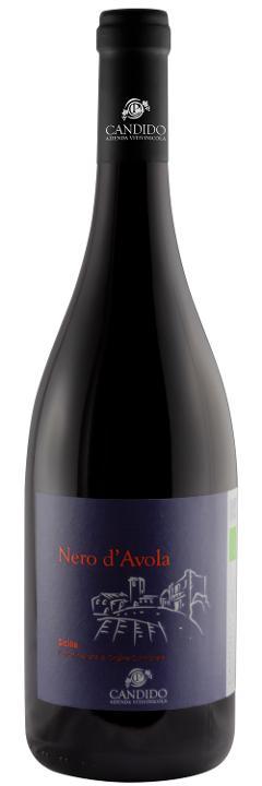 Vino Rosso / Nero D'Avola /  DOC Sicilia BIO / Candido Vini