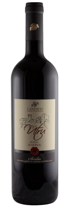 Vino Rosso / Utru /  IGP Sicilia BIO / Candido Vini