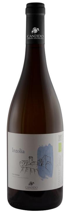 Vino Bianco / Inzolia /  IGP Sicilia BIO / Candido Vini