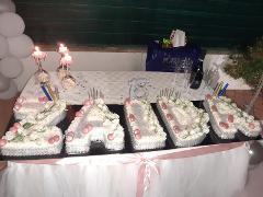 Torta /  Cream Tart / Kg / Bar del Centro