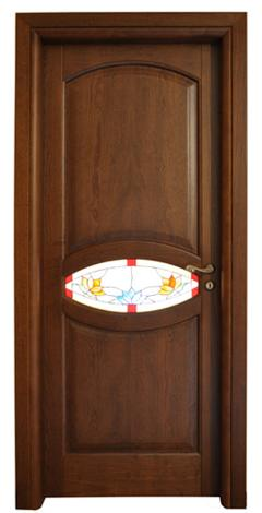 Porta in massello/ Art. 130VC/ Infissi Vaccaro
