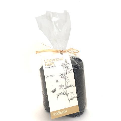 Lenticchie nere/ 500 gr./  Valdibella