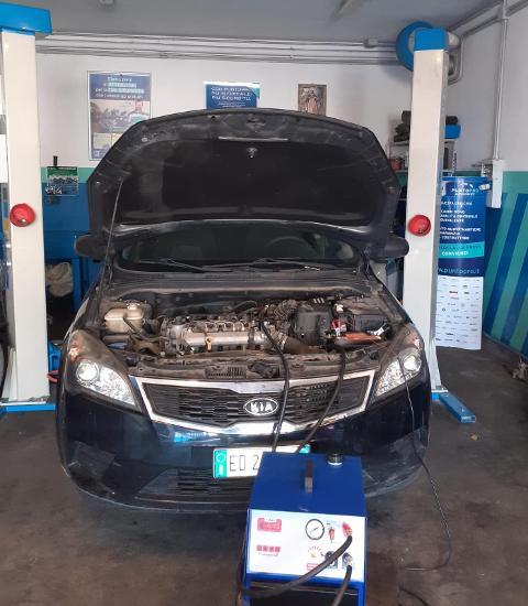 Pulizia Motori /  Benzina e Diesel / Officina Sciara