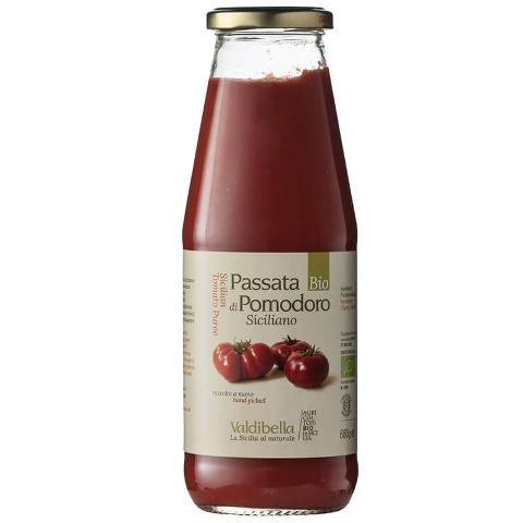 Passata di pomodoro/ 680 gr Siccagno/  Valdibella