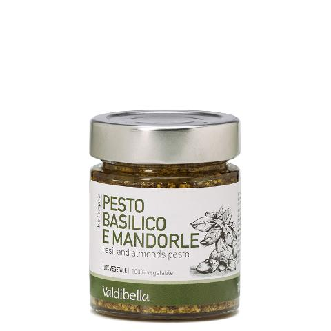 Pesto basilico e mandorle/  Valdibella